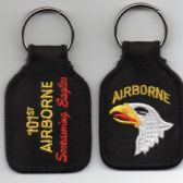 101st AIRBORNE SCREAMING EAGLE KEY FOB